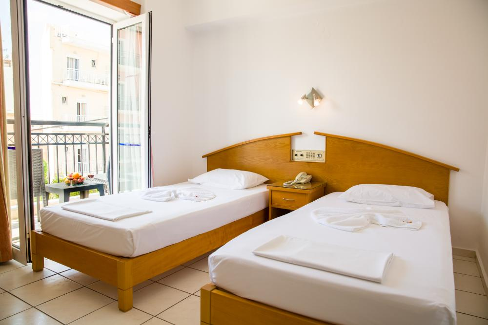 Attractive Double Rooms With Either A Double Bed Or Twin Beds On All Sides Of The Hotel.  On The Front Side Of The Hotel Or The Main Street All Of Them With A ...